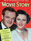 Movie Story Magazine April 1948. COVER: Van Heflin and Barbara Stanwyck. INSIDE PHOTOS: Tom Drake, Lana Turner, Spencer Tracy with Daughter. MOVIE ADS: 'BFs Daughter' with Barbara Stanwyck . All magazines shipped in a protective-archival sleeve.