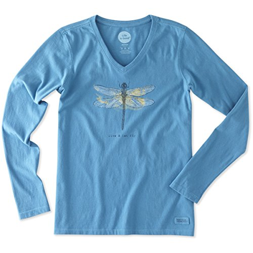 life-is-good-womens-crusher-longsleeve-let-fly-dragonfly-t-shirt-denim-bluex-small
