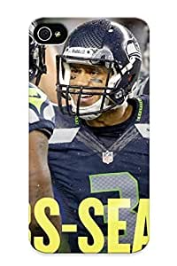 New Diy Design 2013 Seale Seahawks Nfl Football For Iphone 4/4s Cases Comfortable For Lovers And Friends For Christmas Gifts
