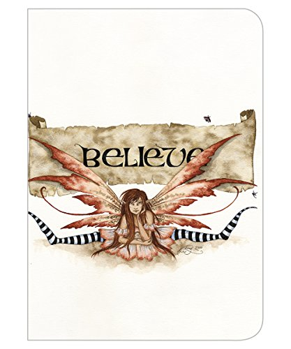 - Tree-Free Greetings Amy Brown Collection Journal, 160 Ruled Pages, 100% Recycled, 5.5 x 7.5 x 0.75 Inches, Believe Fairy (JR86539)