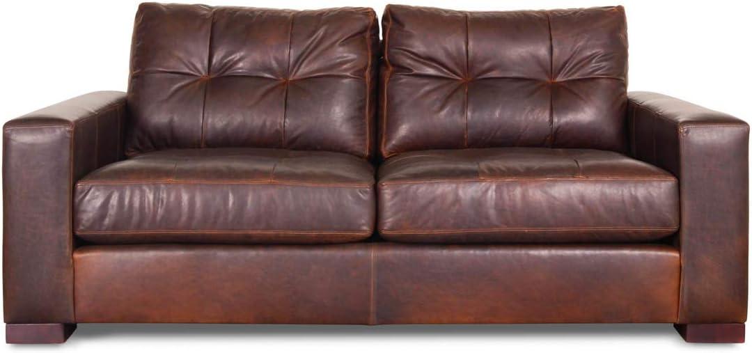 Kalymnos - Muebles de piel de 2 plazas: Amazon.es: Hogar