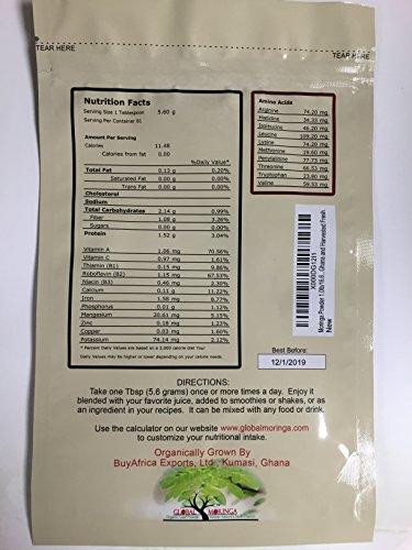 photo Wallpaper of Global Moringa-Global Moringa Moringa Powder 453.59g (1 Lb)-
