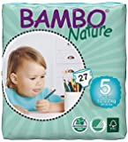 Bambo Nature Premium Baby Diapers, Size 5, (Pack of 6)