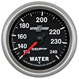 Auto Meter 7632 Sport-Comp II 2-5/8'' 120-240 F Mechanical Water Temperature Gauge