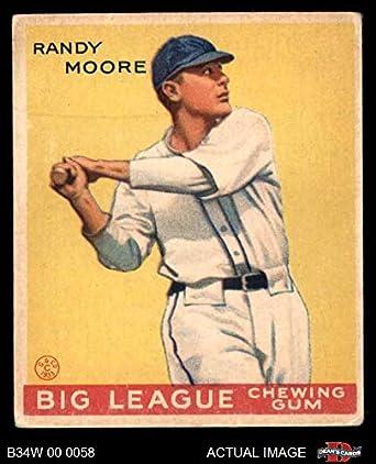 Amazoncom 1934 World Wide Gum 26 Randy Moore Baseball Card