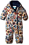 Columbia Baby Boys' Frosty Freeze Bunting, Collegiate Navy Critter Blocks 6/12