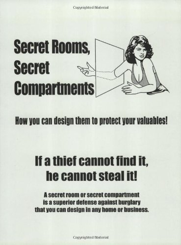 A design manual 80 pages of text and 45 drawings on how to design secret rooms and secret compartments to protect valuables in any home or place of business. If a thief cannot find your valuables he cannot steal them.A secret room is a superi...
