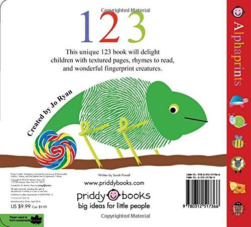 Amazon.com: Alphaprints: 123 (9780312517366): Roger Priddy: Books