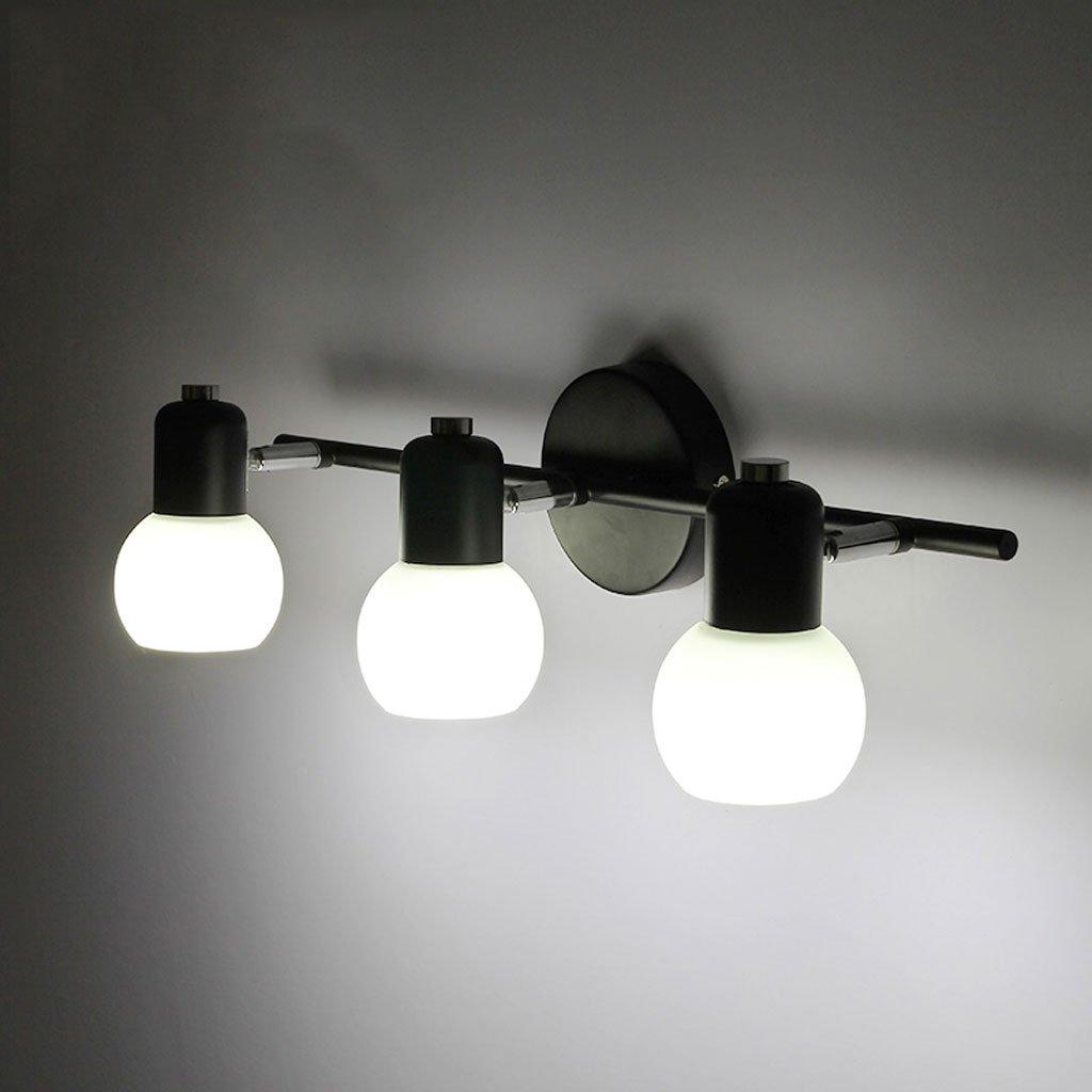 QWM-Badspiegellampe Spiegel Vorne Lampe Badezimmer Badezimmer Eitelkeit Lampe Spiegel Kabinett Beleuchtung Retro Schlafzimmer Lichter Led Spiegel Lampen Laternen QWM-Bad Wandleuchten