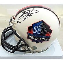 Emmitt Smith Signed Hall Of Fame Mini Helmet - JSA Authenticated