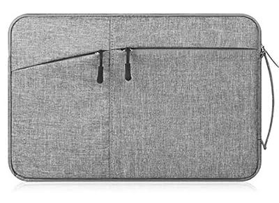 "Canvas Laptop/Tablet Sleeve Handbag for Samsung 12.2""Chromebook Plus / 12.3""Chromebook Pro/Galaxy Book 12/11.6"" Chromebook 3 / XIDU PhilBook/Google Pixel Slate/Pixelbook"