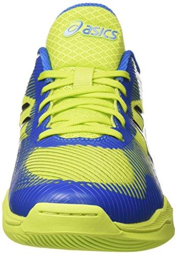 Asics Mens Volley Elite Ff Pallavolo Stivali Multicolore (energia Greendirectoire Blu Nero)