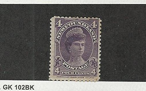 Newfoundland, Postage Stamp, 84 Mint Hinged, 1901