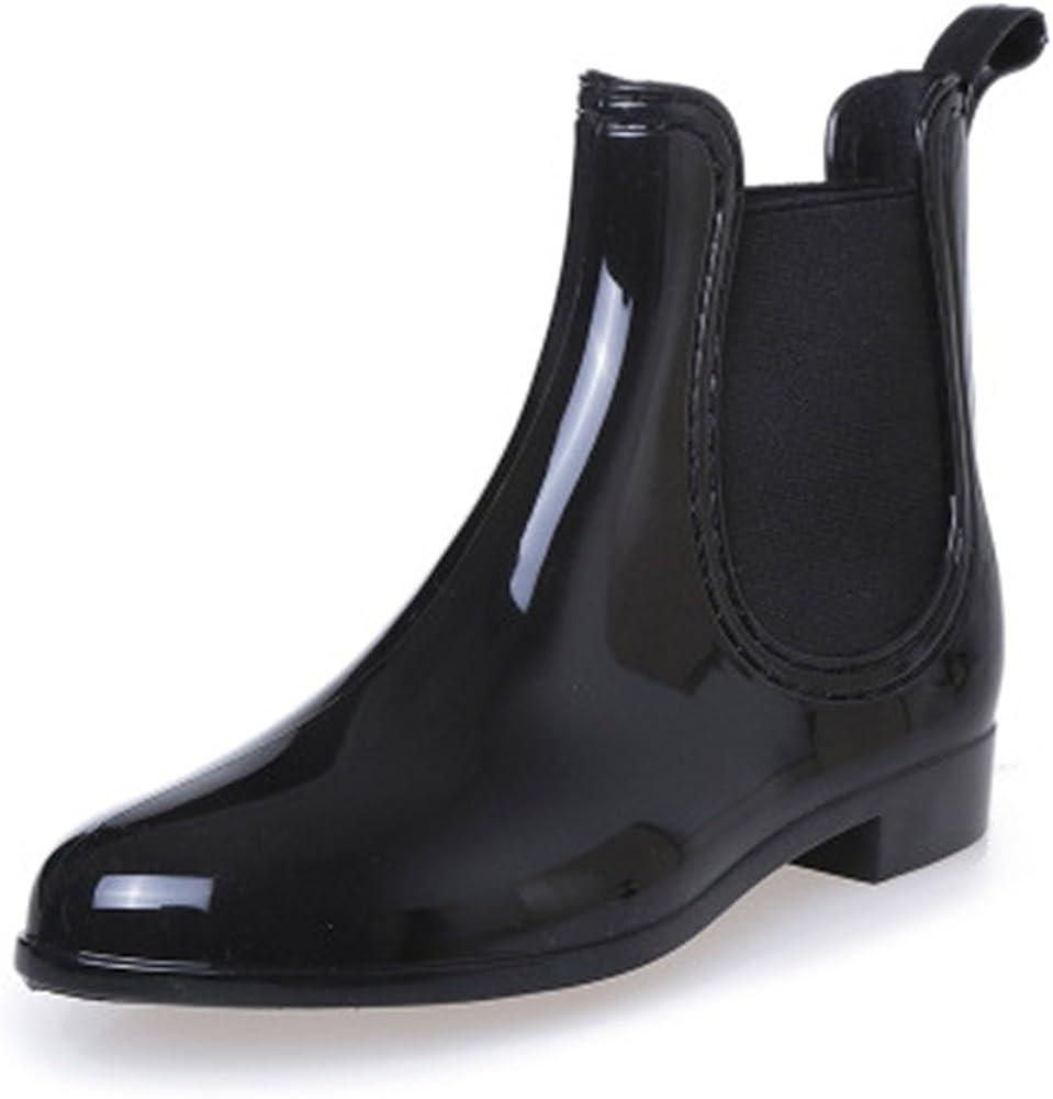 SAGUARO Womens Wellington Ankle Boots