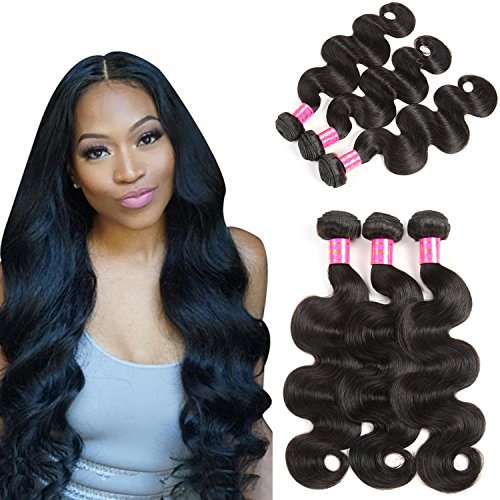 Bestsojoy 10A Peruvian Virgin Hair Body Wave 3 Bundles 100% Unprocessed Peruvian Body Wave Virgin Human Hair Extensions Weave Weft Natural Color