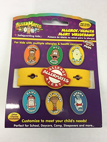 Allergy/Health Alert Wristband Without EpiPen Charm by Allermates (Image #2)
