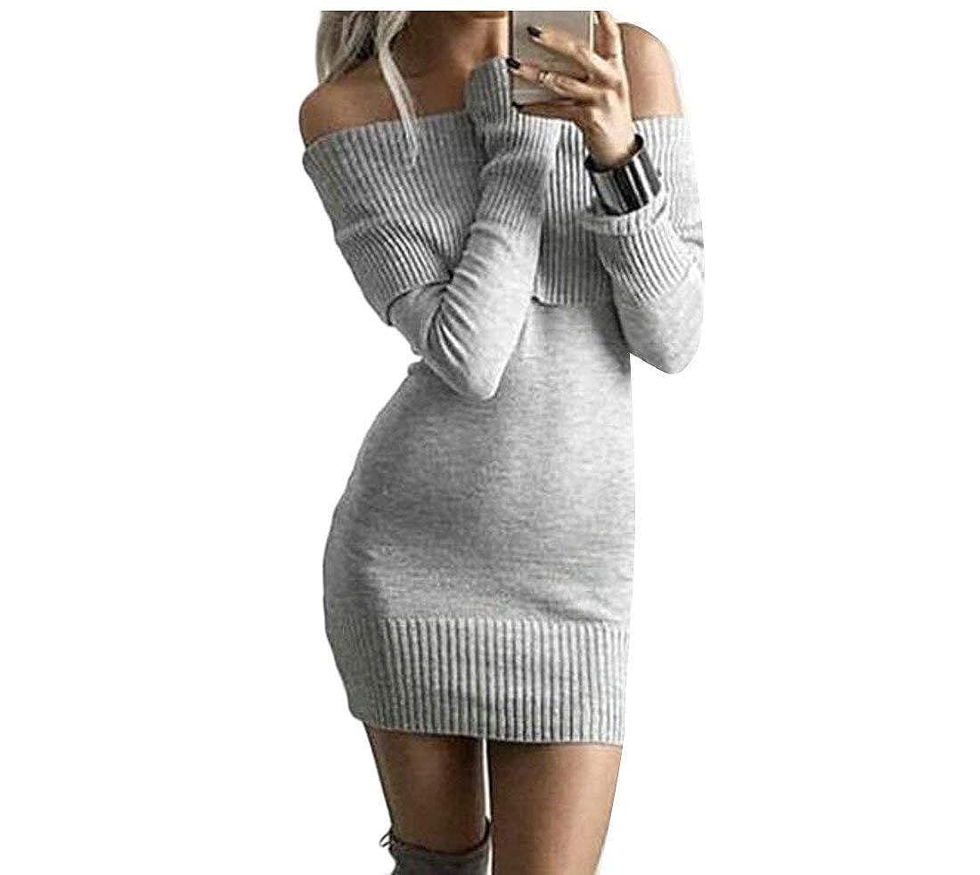 BU2H Men Long Sleeve Turtle Neck Knit Pullover Sweater
