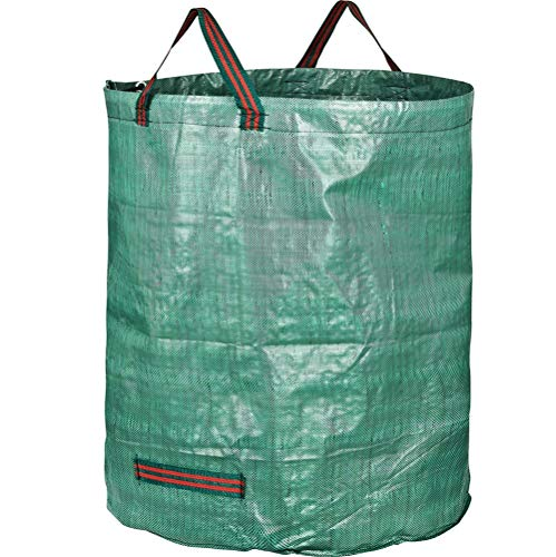 RXX 132 Gallon Garden Garbage Bag Green,