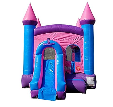 Amazon.com: Inflable rebote casa y mojado/seco Slide, 12 ...