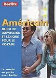 Guide de conservation et lexique pour le voyage : Américain