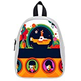 Large Size The-Beatles Printing Shoulders Backpack Custom High School Students Backpack for Travel or Party