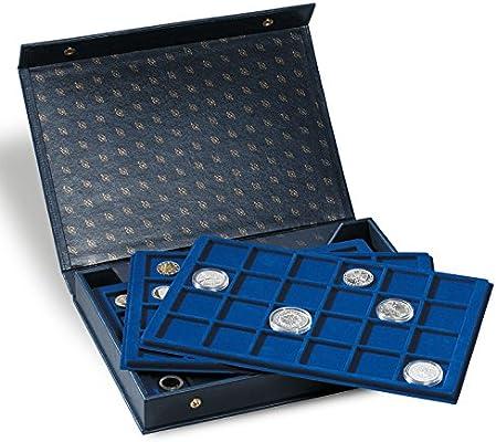Leuchtturm 330921 Estuche para Monedas L Incl. 4 bandejas: Amazon.es: Juguetes y juegos