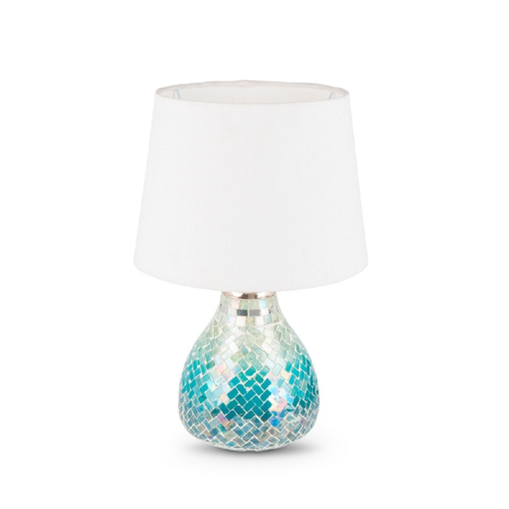 Lone Elm Studios 94318 Blue Ombre Lamp Christmas 15InL x 10InW x 10InH Multicolor