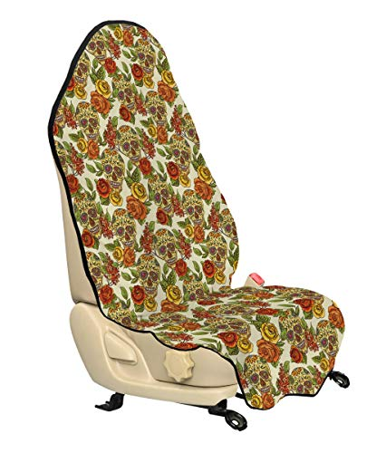 Skull Car Seat Covers For Girls