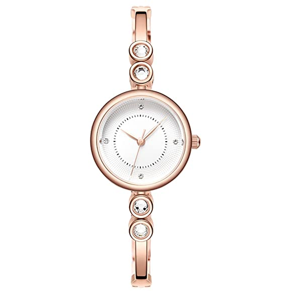 Relojes de mujer Tendencias de la moda Mujeres estudiantes de ocio Atmósfera impermeable Mujeres Reloj Pulseras