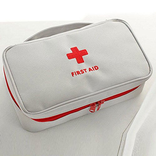 JUJU MALL-Travel First Aid Kit Bag Home Emergency Medical Survival Rescue - First Mall Colony