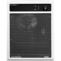Cadet NLW Series 14-1/4 in. x 19-1/14 in. 2,000-Watt 208-Volt In-Wall Fan-Forced Electric Heater with Grill White