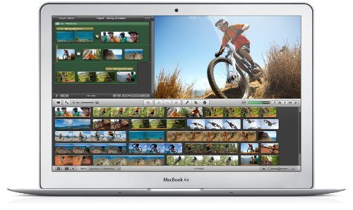 Apple MacBook Air MD760LL/A 13.3-Inch Laptop (Intel Core i5 Dual-Core 1.3GHz up to 2.6GHz, 4GB RAM, 128GB SSD, Wi-Fi, Bluetooth 4.0) (Renewed) (Computer Apple Laptop)