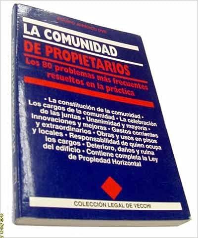 Book La Comunidad de Propietarios