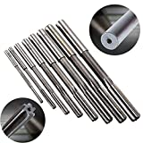 8pcs/set Straight Shank Machine Ramer HSS H8 Chucking Reamers Set Cutter Tool 3/4/5/6/7/8/9/10mm