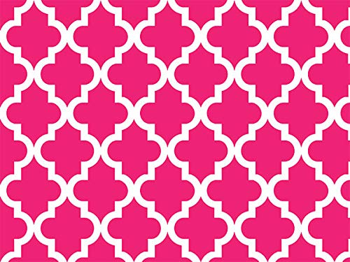 Geo Graphic Tiles Hot Pink 24