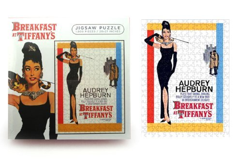 Breakfast at Tiffanys Movie Score 1000 Piece Jigsaw Puzzle