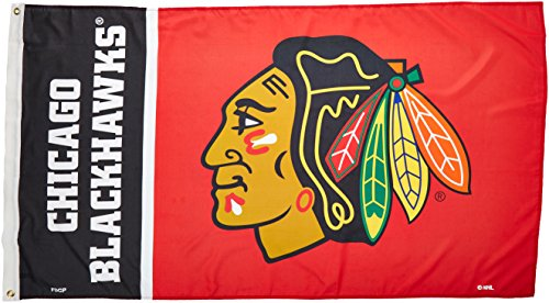 NHL Chicago Blackhawks Flag with Grommets (3 x ()