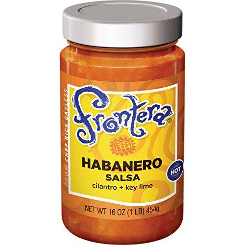 FRONTERA Gourmet Mexican Roasted Habanero Salsa, Hot, 16 oz. ()