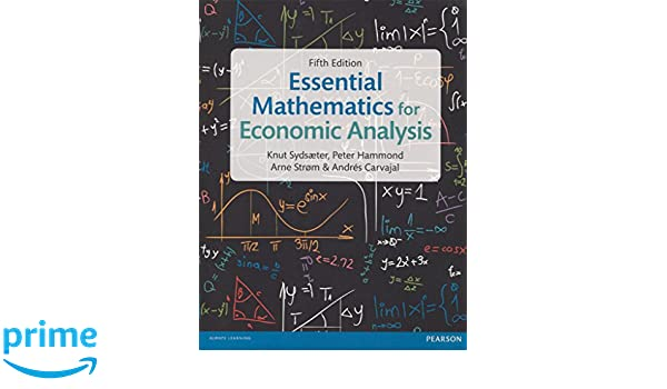 essential mathematics for economic analysis 4th edition pdf download