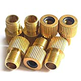 UltraZhyyne 7pcs/lot Bicycle Bike Presta to Schrader Tube Pump Tire Gas Valve Adapter Convert Repair Bomba Bicicleta Bicycle Wastgate