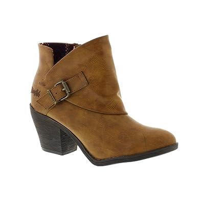 Blowfish Womens Suba Boots US8 Brown