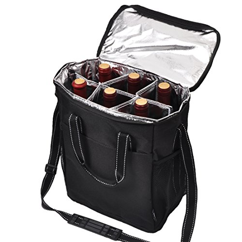 6 Bottle Wine Carrier - 3