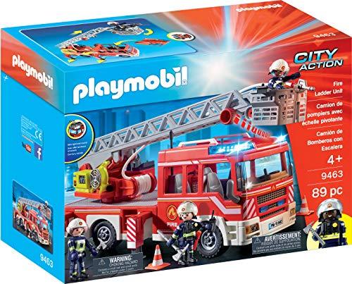 Playmobil Fire Ladder Unit (Playmobile Engine Fire)