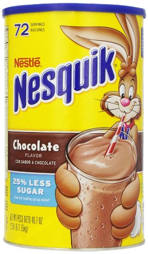 Nesquik Chocolate Drink Mix - Nesquik Chocolate Powder, 40.7 oz