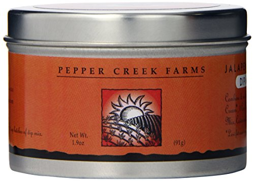 Cilantro Dip Mix (Pepper Creek Farms Dip Mix, Jalapeno Cilantro, 1.9 Ounce)