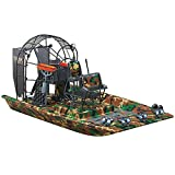 AquaCraft Models Cajun Commander Brushless Ready-to-Run Airboat with ABS Plastic Hull, 3-Channel Radio and LEDs