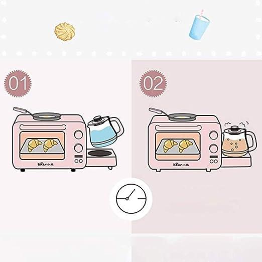 WUYANJUN 220V 3-en-1 Máquina de Desayuno en el hogar 8L, Puede ...