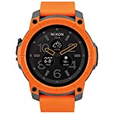 Nixon 'Mission' Smartwatch, Color: Orange (Model: A1167-2658)