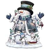 4PCS Christmas Diamond Painting Diy 5D Diamond Painting Kits Christmas Snowman Santa Claus Patterns Rhinestone Embroidery Arts Craft Cross Stitch for Home Wall Decor Christmas Gift 25X25cm