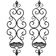 Zingz and Thingz Fleur-De-Lis Wall Sconce Duo (Set of 2)
